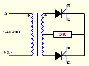 单相隔离变压器的接线图