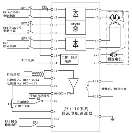 本调速器设计采用主电路